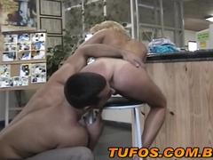 Sexo com a putinha da academia