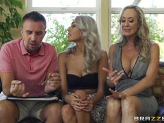 Sexy Blonde Latina MILF Sucks Hard Dick