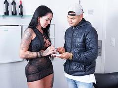 Elisa Sanches fez pornoxxx com fã