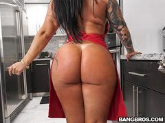 Monica Santhiago fodendo com o Mandingo