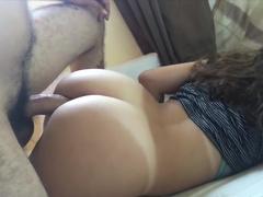 Sexo incesto padrasto comendo a novinha gostosa