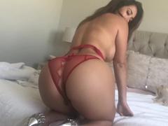 Cena de sexo amador com a estrela pornô Eva Lovia
